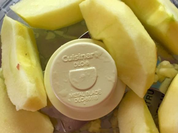 tart apples, chopped