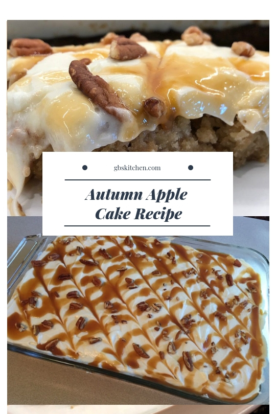 autumn apple cake recipe