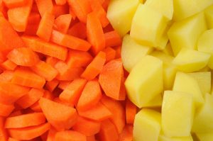carrots and taters
