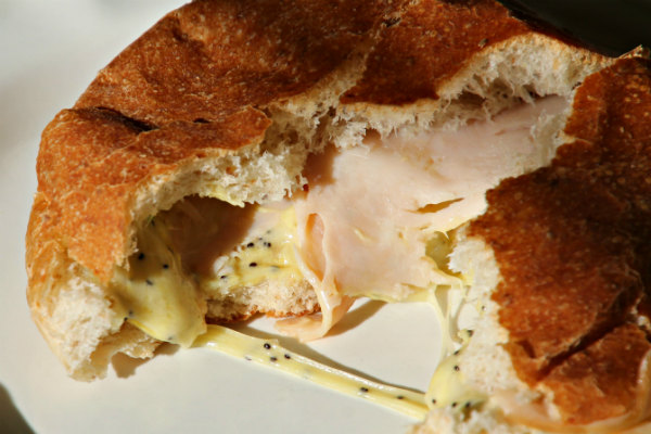 nice hot bunwich