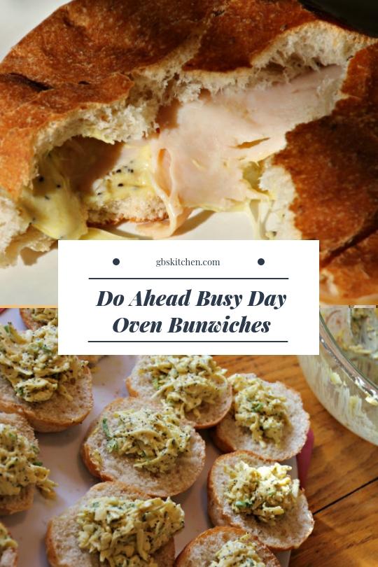 bunwich recipe