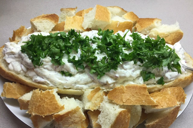 beef dip in bread boat