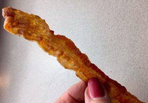perfecty crisp bacon