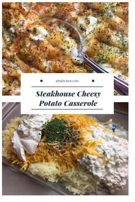 ccheesy potato casserole recipe