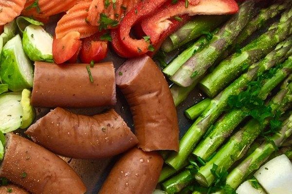 summer meal sheet pan
