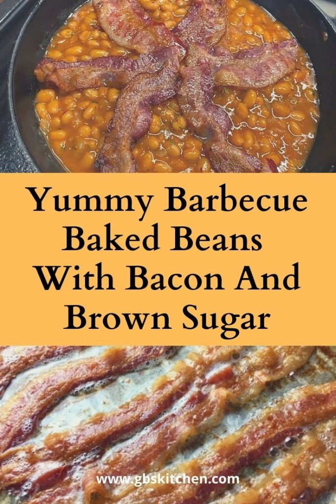 barbecue beans with bacon