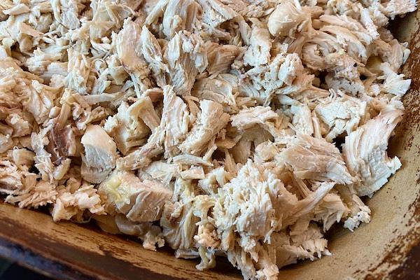 chopped chicken for dressing