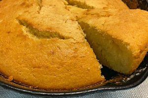 wedge of cornbread