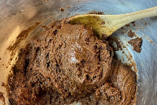 chocolate brownie batter