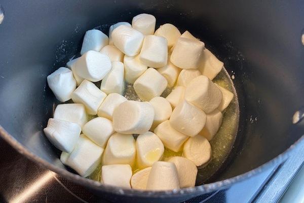 melt marshmallow