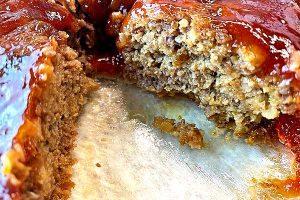 juicy hot meatloaf