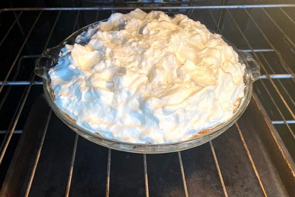 meringue topped pie