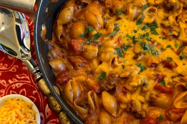 fast and fabulous one pot chili mac and cheese