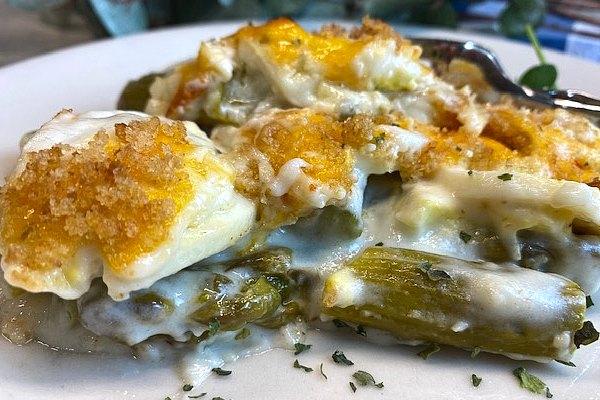 asparagus and egg casserole