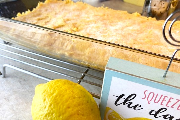 lemon dessert crust